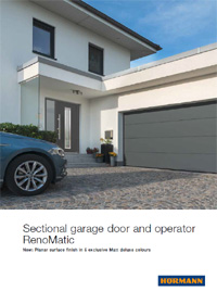 Hormann Renomatic Sectional Garage Doors